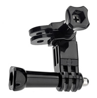 Three-way Adjustable Pivot Arm Assembly for GoPro HD Hero 3+ 3 2 1 Camera