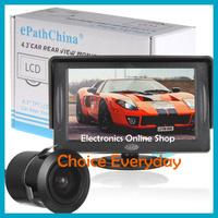 "4.3"" 480 x 272 TFT LCD Color Display Car Rear View Monitor + Car Rearview Reversing Camera"