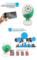 720P HD Wireless Baby Monitor Detector Wifi With 2way talk audio and video  Night Vision IP Baby Monitors Indoor
