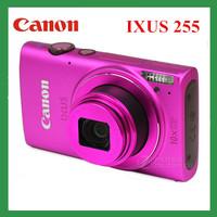 Free shipping camera digital canon IXUS 255 HS WIFI wireless funtion with 3' screen FULL HD 12.1MP 10X Optical Zoom wifi camera