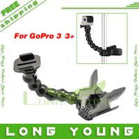 Go pro accessoris gopro3 3+  monopod for gopro hero4 hero3+/3 hero2 gopro 3 plus go pro 3 black silver edition hd camcorder
