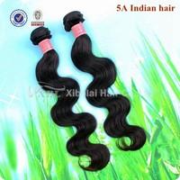 Grade 5A Unprocessed Virgin Hair Raw Indian Hair 4pcs Per Lot Body Wave Virgin Hair Free Shipping XBL Hair Weave
