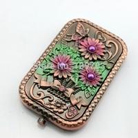 lovely antique pocket mirror for decorative for girls