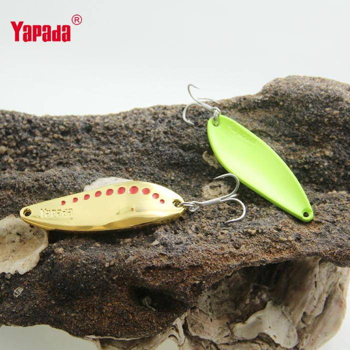 Приманка для рыбалки YAPADA 004 6pcs/7.5 g /20 SPOON 004 Leech
