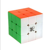 F08607 Dayan GuHong V1 6 Colors 57mm 3x3x3 Speed Puzzle Magic Cube Smooth & Fast Competition Toy Gift Cubes Magics + Freeship