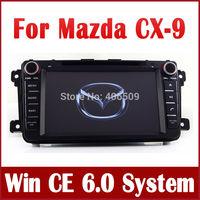 Car DVD Player GPS Navigation for Mazda CX-9 CX9 2007 2008 2009 2010 2011 2012 2013 w/ Radio CD BT TV USB SD AUX 3G Audio Stereo