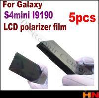 New 5pcs for Galaxy GT-i9100 /S4 Mini i9190 LCD Polarizer Film