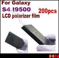 200pcs LCD Polarization Polaroid Polarized Light Film for Samsung Galaxy S4 i9500 i9505