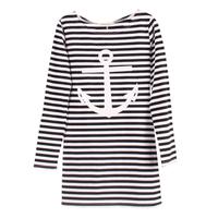 New 2014 European and American women t-shirts letter Paris brand Striped tops t shirt hoodie Sweatshirt DF-038