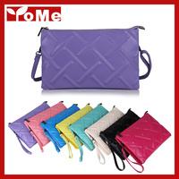 2014 New Plaid Pattern Women Handbag Lady Fashion Shoulder Genuine leather Messenger Tote Bag, YB9603