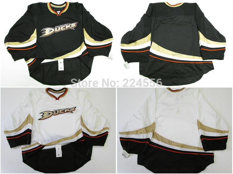 36 JOHN GIBSON Design your own Anaheim Mighty Ducks goalie cut Jerseys hockey jerseys customize swen on Any Name & NO.(China (Mainland))