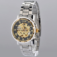 Hot selling Stainless Steel Band men/man automatic Mechanical waterproof business casual Wrist Watch Mens  Wristwatch