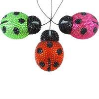 Free shipping!  Ladybird shape diamond Mouse Colorful Computer mouse(10pcs/lot)