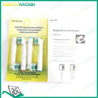 CE & RoHs 800Pcs/Lot Electric Replacement Toothbrush Head EB18-4 EB-18A Toothbrush Head Bristle Health Care (1Pack=4Pcs)