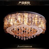 Round ceiling lamp bedroom lamp crystal lamp lighting Zhongshan wholesale 60cm diameter