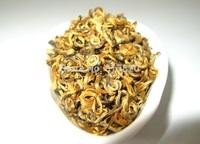 100g Top Quality curly jinjunmei, Dian Hong,JinJunmei,Yunnan Black Tea,Free Shipping