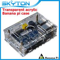 High Quality Acrylic Transparent Banana Pi case Banana Pi box with Good Heat dissipation