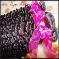 My Gorgeous beauty queen hair 6A deep wave brazilian virgin hair extensions 2/3pcs mixed lots curly texture Sale item