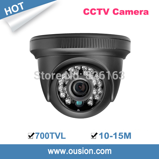 2014 time-limited new arrival cmos 10-15m ir distance 3.6mm lens security color plastic dome camera ird88-67(China (Mainland))