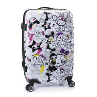 Korea Hellokitty spinner wheels trolley luggage kt cat luggage travel bag luggage cartoon