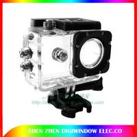 The original factory SJ4000 Waterproof Case for sj4000 wifi sj4000 30m Underwater  Sport camera free shipping