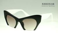 High quality Polycarbonate lens uv400 sunglasses women vintage,HOT standard UVA 2015 woman sunglasses cat eye brand