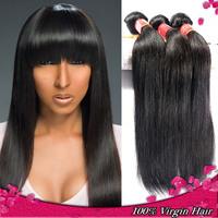 Rosa Hair Products Brazilian Virgin Hair Straight 3pcs lot 6A Grade Virgin Human Hair Weave Unprocessed Virgin Brazilian Hair