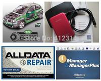 2014 alldata latest version diagnostic software Alldata 10.53 ( 575GB)  fit all 32&64bit windows system free install