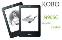 Kobo,N905C,6 inch, e-ink, ebook reader,e book, touch,Gift box,portable audio & video,paperwhite,wifi,ereader,ink,books