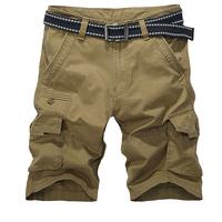 Free shipping men's cotton shorts casual outdoor famous brand shorts big size men sports clothing bermuda surf shorts