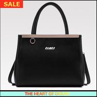 Fashion Hanbbag Genuine leather Women Shoulder Bag Sequined Letter OL lady Messenger Bag Korea Style Shoulder Bag B069