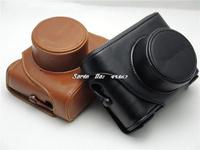 New Leather Camera Hard Case Bag Cover For Fujifilm Fuji X10 X20 Finepix+Free shipping