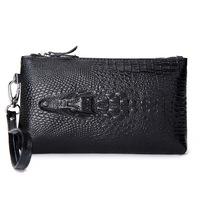 Crocodile Genuine Leather Women Day Clutch Fashion Handbags Alligator Embossed Evening Bags Women Clutch Bag HB-138