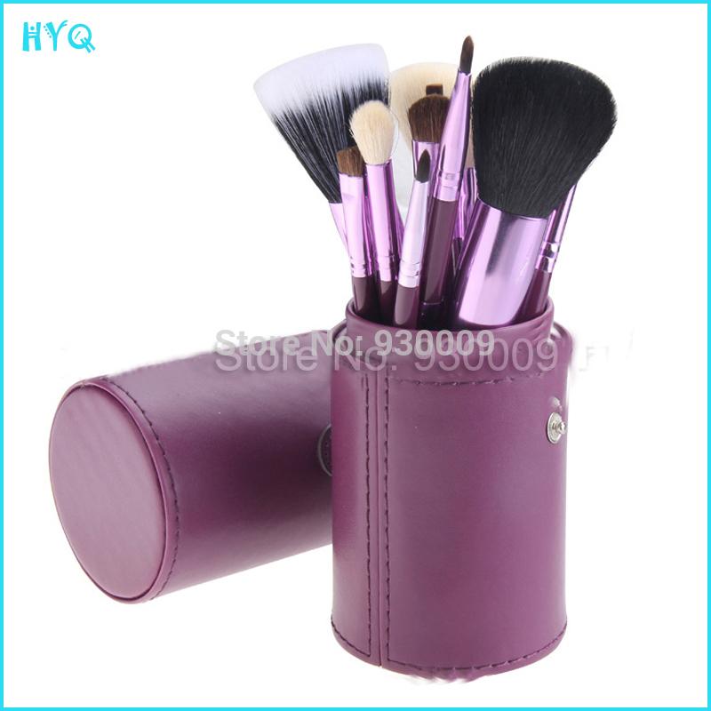 Free Shipping!12pcs Makeup Brushes Sets/Face Makeup Brush Kits/Makeup Brush Cleaner/6 Colors High Quality Make up Brushes Set(China (Mainland))