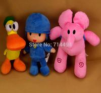 28cm 1pcs POCOYO and Friends Cartoon Dolls & Stuffed toys& Hobbies Elly & Pato & POCOYO Baby Kids Toys free shipping