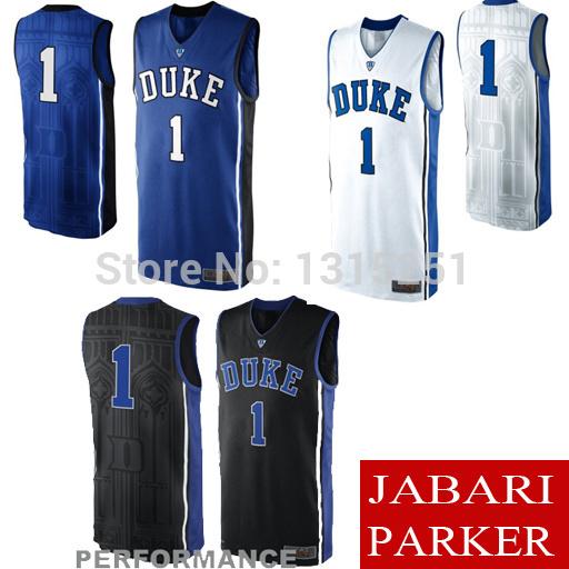 New 2014 Hot Sales Fast Free Shipping Milwaukee Jabari Parker Jersey Duke University Basketball Customized Jersey Top Quality(China (Mainland))