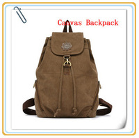 Fashion High Quality Brand Lady Canvas Backpack School Pack,Travel, Business,Office Worker Bag, 6 Colors, Free Drop Shipping.