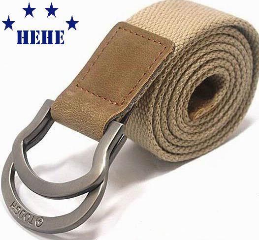 neue heiße marke riemen stark leinwand gürtel herren geschenk ledergürtel mode versandkostenfrei