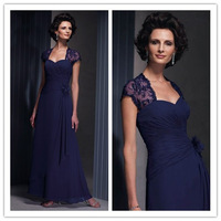 2014-2015 Free Shipping Mother of the Bride Dresses A Line Floor Length Chiffon Special Occasion Dresses ZY026