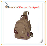 Fashion High Quality Brand Lady Canvas Backpack School Pack,Travel, Business,Office Worker Bag, 2 Colors,Free Drop Ship AK001006