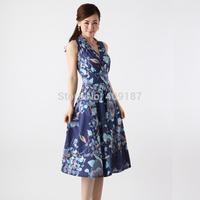 new 2014 summer new women bohemian dress(freeshipping), Good quality elastic fabric dress, HCFFW