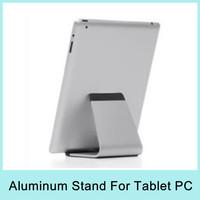 Aluminium Metal Desk Stand Holder Mount for Apple iPad3 iPad mini iPad Air Tablet PC Universal Stand Drop Shipping