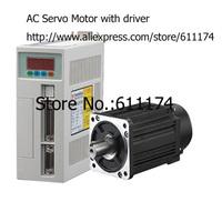 High quality 90ST-M02430 AC servo motor 750W 2.4N.M 24kgf.cm 3000rpm AC Servo Motor and driver with cable
