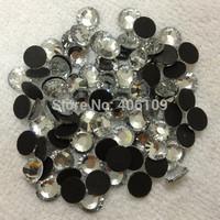 $2.98/288Pcs Shiny DMC SS30 6.5mm Hot fix Rhinestones Crystal Color