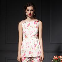 YIGELILA 7217 Customized Ladies Style Bow Shoulder Design Print Slim Shirt Tops Free Shipping