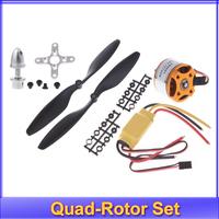 1set A2212 1000KV Brushless Outrunner Motor +30A ESC+1045 Propeller(1 pair) Quad-Rotor Set for RC Aircraft Multicopter