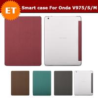 Special Leather Flip Case For 9.7'' Onda V975/V975M/V975S Tablet High Quality Free Shipping