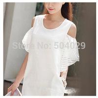 Girls White Ruffles Sleeve Mini Sweet Dress Best Quality Fashion Ladies Cute Linen Dress Hot Gorgeous Women Graceful Vestidos