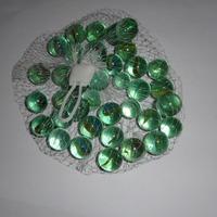1 Piece net glass marbles transparent bags wholesale beads glass ball child toy aquarium decorations