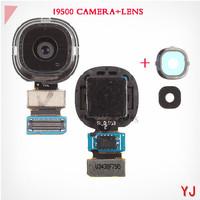 Original New For Samsung S4 I9500 Rear Back Camera Big Main Camera Flex Cable Replacement +Camera Lens and Bezel 13MP